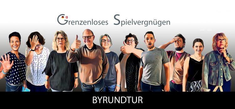 """Sprachlernspiel """"Byrundtur"""" (Stadtrundgang)"""